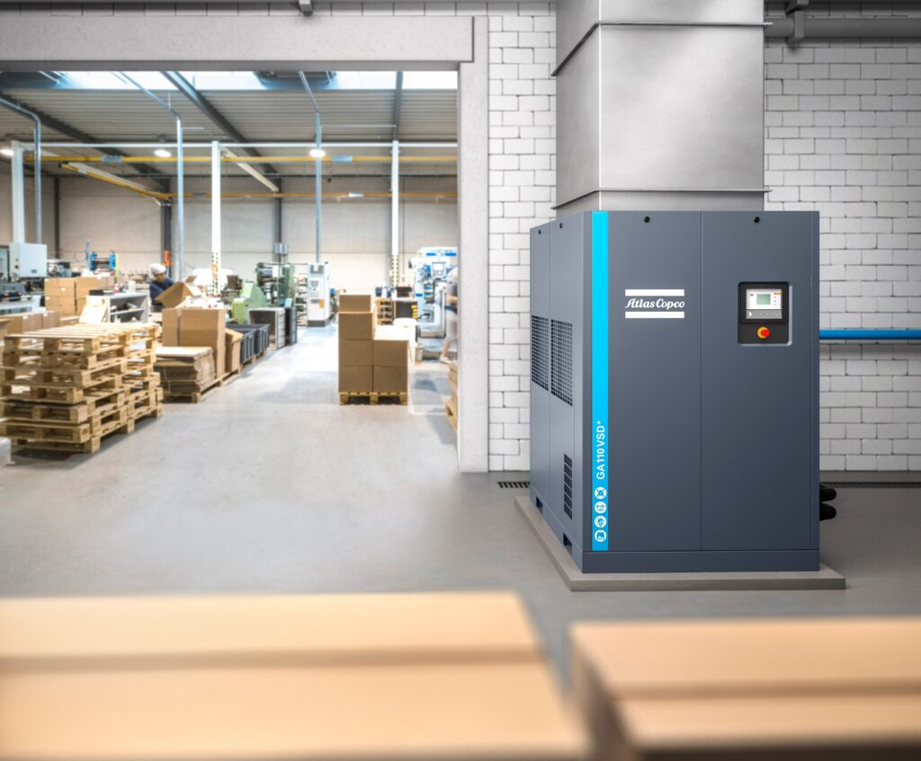 Atlas Copco Oil Flooded Rotary Screw Compressors