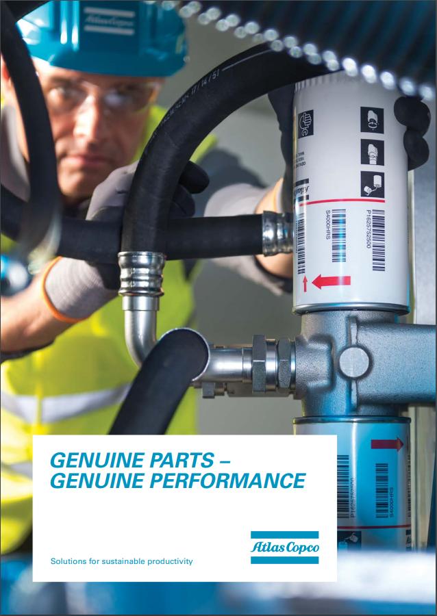 compressed air parts genuine parts brochure