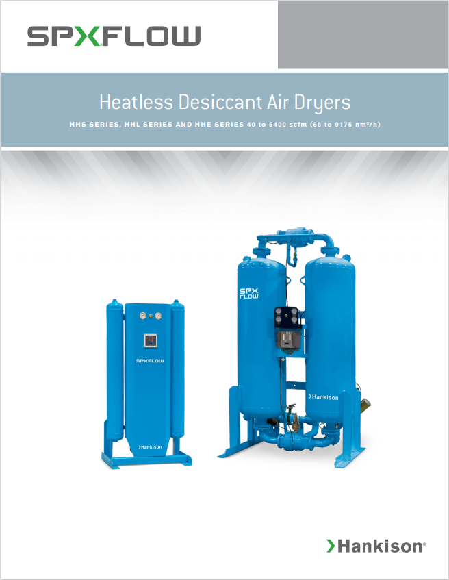 heatless desiccant air dryers brochure