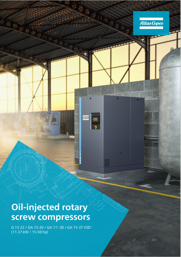 Oil injected Rotary Screw Compressor from CFM