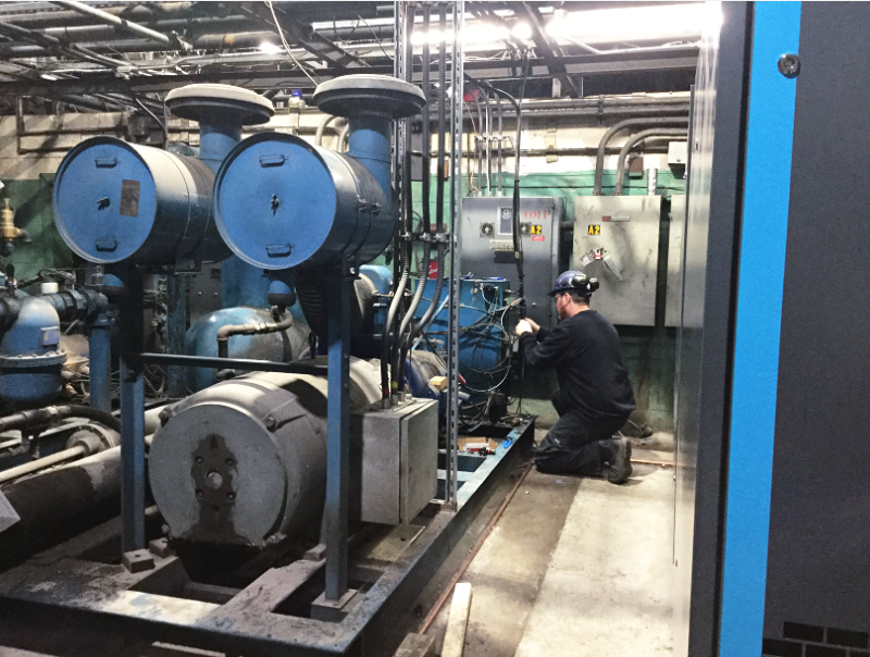 Compressors For Manufacturing Air Compressors Servicing & maintenance
