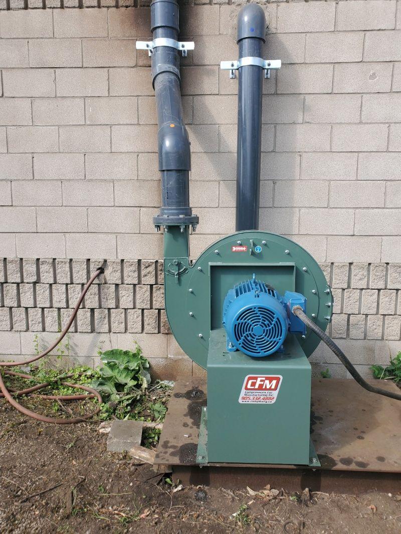 Canyon Air, New York Blower Company Installation
