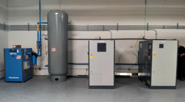 Atlas Copco Air Compressor, Receiver Tank , Air Dryer