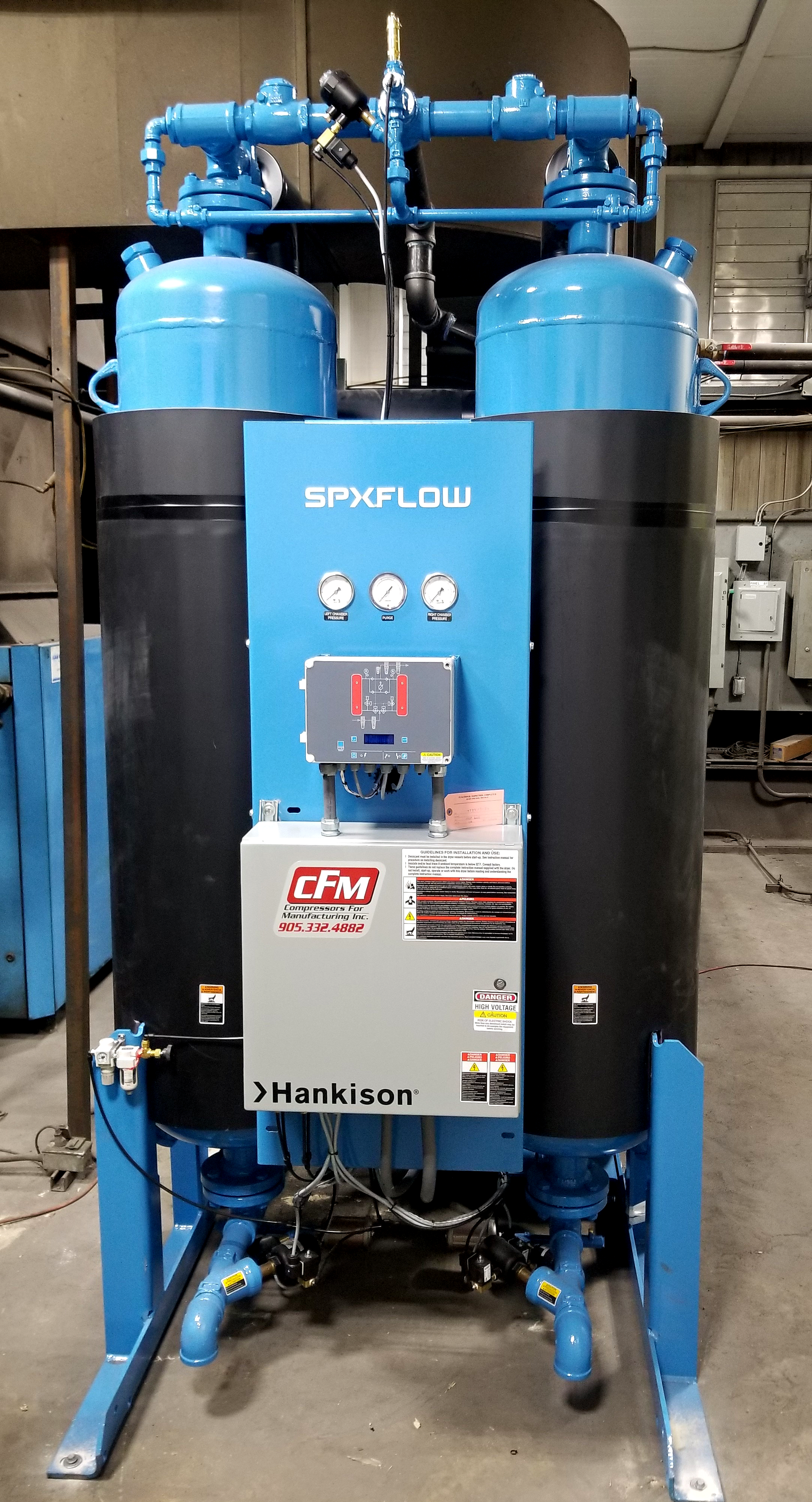 HPD Series - Heated Purse Desiccant Dryer - Hankison SPXFLOW