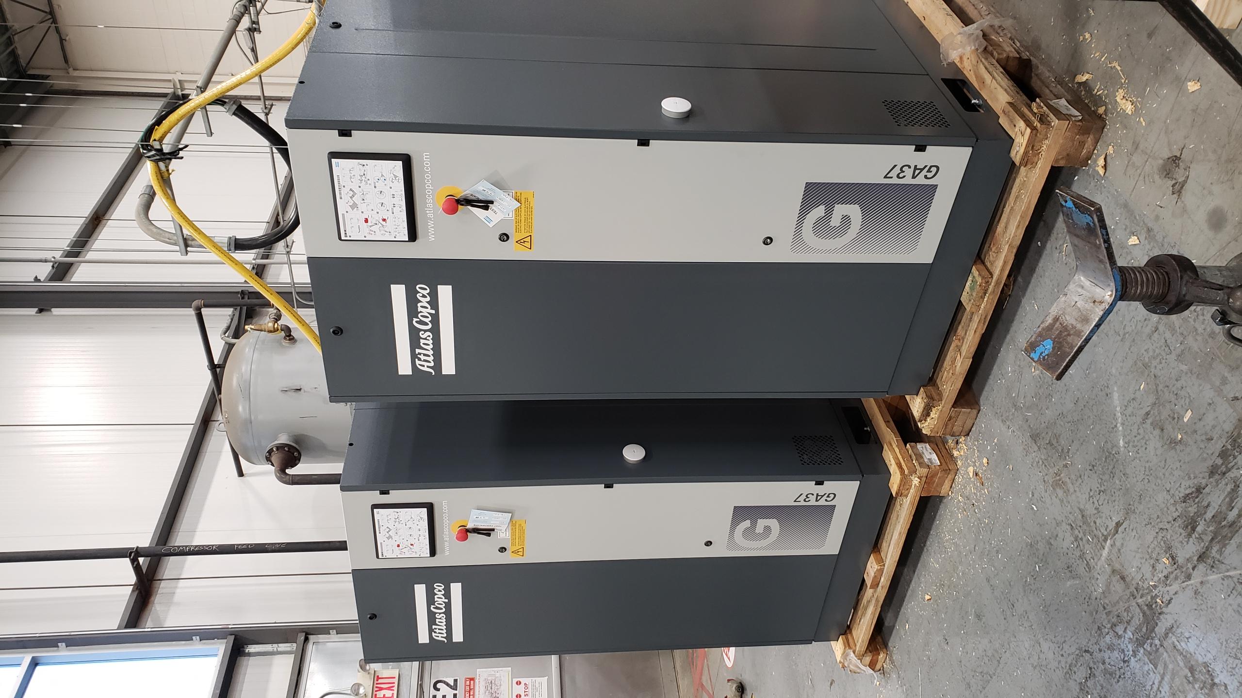 Atlas Copco Air Compressors GA37