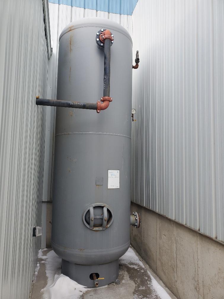 Receiver Tank Installation