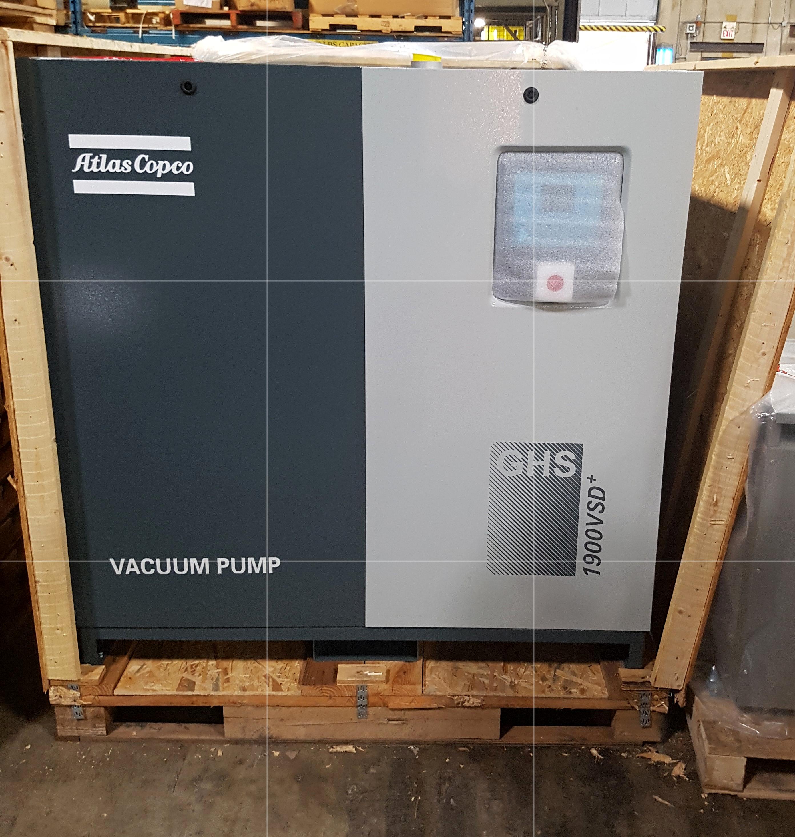 Atlas Copco Vacuum Pump GHS 1900VSD+ Compressors For Manufacturing